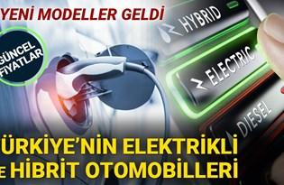 Türkiye'nin hibrit ve elektrikli otomobilleri