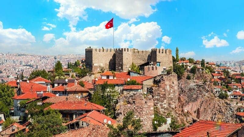 Ankara gezilecek yerler ankara kalesi