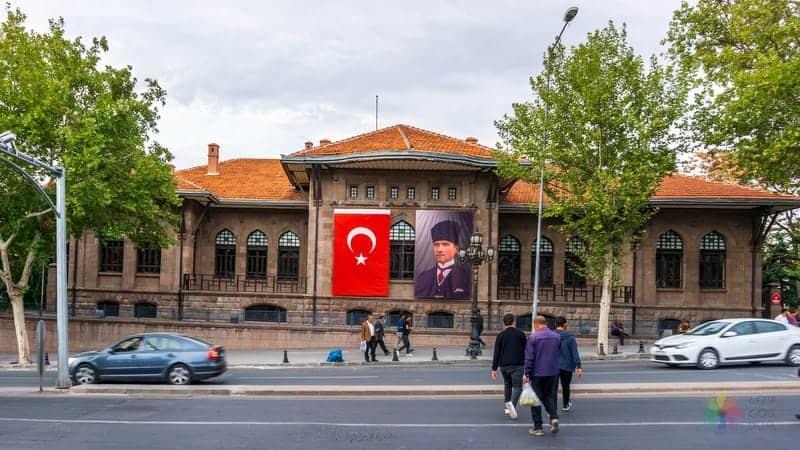 Ankara'da gezilecek yerler Kurtuluş Savaşı Müzesi İlk Meclis