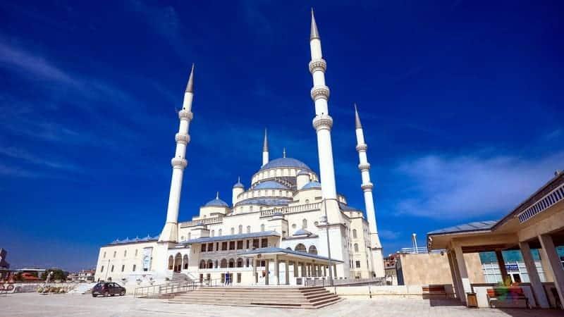 Kocatepe Camii Ankara'da gezilecek yerler