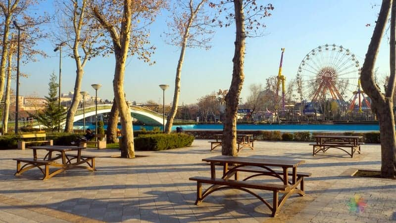 Ankara gezisi Gençlik Parkı