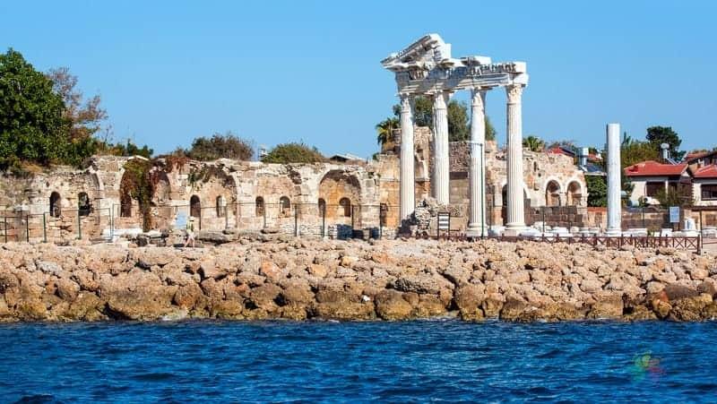 Side Antik Kenti Antalya'da gezilecek yerler