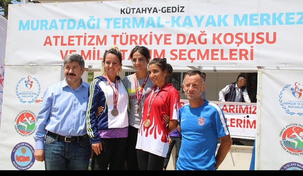 Türkiye Dağ Koşusu Şampiyonası Murat Dağı'nda yapıldı